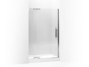Kohler Pinstripe® 72-1/4 x 47-3/4 in. Heavy Glass Pivot Shower Door with 1/2 in. Crystal Clear Glass KOH705722-L