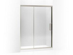 Kohler Lattis® 76 x 60 in. Pivot Shower Door with Crystal Clear Tempered Glass KOH705824-L