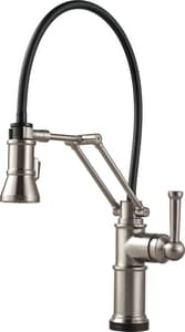 Brizo Artesso™ 21-1/2 in. 1-Hole Kitchen Sink Faucet with Single Lever Handle D64225LF