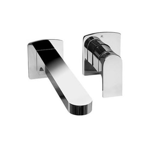 DXV Lyndon® 1.5 gpm 2-Hole Wall Mount Lavatory Faucet DD3510940C