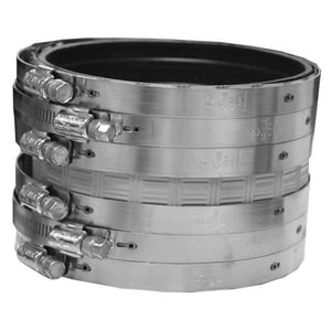 Jones Stephens No-Hub Heavy Duty Stainless Steel Coupling JHDNHC