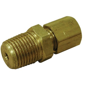 Jones Stephens Compression x Male Brass Connector JC741LF