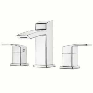 Pfister Kenzo™ 11-1/4 in. 1.2 gpm 3-Hole Widespread Bath Faucet with Double Lever Handle PLG49DF2
