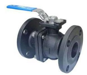 FNW 150 WSP Carbon Steel Flanged Full Port 2-Piece Ball Valve FNW601B