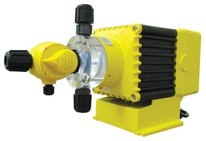 LMI LMI Series C 4 gph 100 psi Plastic, Stainless Steel and Fluorofilm Electronic Metering Pump LC92175HV at Pollardwater