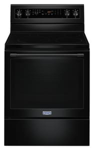 Maytag 29-7/8 in. Wide Electric Range with True Convection and Power Preheat MMER8800F