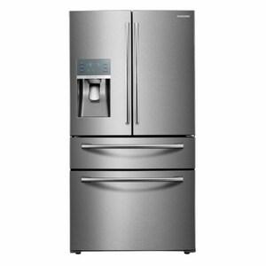 Samsung Electronics 24 cf French Door Refrigerator with Food Showcase SRF28JBEDBAA