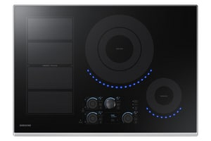 Samsung Electronics 30 in. 8.6kW Electric Cooktop SNZ30K7880UAA