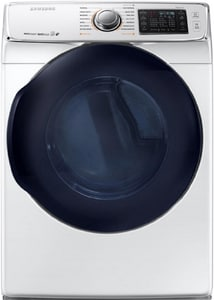 Samsung Electronics 32-7/16 x 38-3/4 in. 7.5 cf Electric Front Load Dryer SDV45K6500EA3