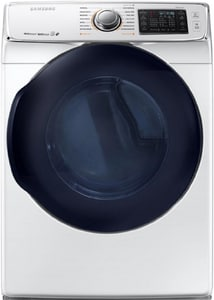 Samsung Electronics 32-7/16 x 38-3/4 in. 7.5 cf 22000 BTU Electric Front Load Dryer SDV45K6500GA3