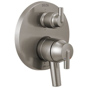 Delta Faucet Trinsic® 6-5/8 in. 6-Setting Integrated Diverter Valve Trim DT27959