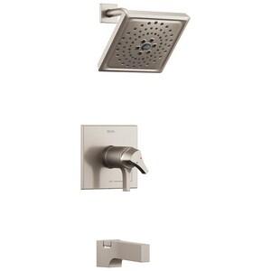 Delta Faucet Zura™ Tub and Shower Faucet Trim with Single Lever Handle DT17T474