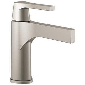Delta Faucet Zura™ Lavatory Faucet with Single Lever Handle in Brilliance Stainless D574SSMPUDST