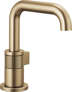 Brizo Litze™ 1.5 gpm 1-Hole Lavatory Faucet with Single Handle in Luxe Gold D65035LFGLECO