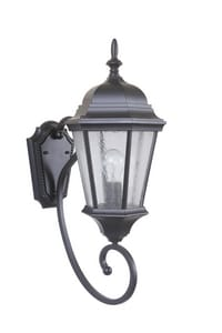 Craftmade International Newberg 23-1/4 in. 100W 1-Light Medium E-26 Base Outdoor Wall Sconce CZ2960