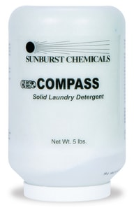 Sunburst Chemicals 5 lb. Compass Solid Laundry Detergent S7866S2