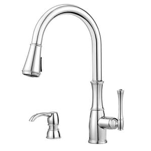 Pfister Wheaton™ 1.8 gpm Single Control Pull-Down Kitchen Faucet PGT529WH1