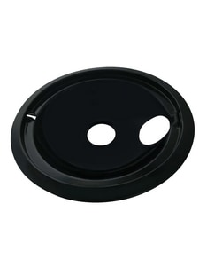 PROSELECT® 8 in. GE Drip Bowl in Black (6-Pack) PS3040208