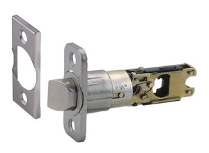 Design House Drive in Passage and Privacy Latch in Satin Chrome D787382