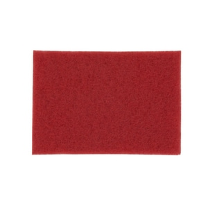 3M Buffer Floor Pad in Red (Case of 10) 3M0480115905