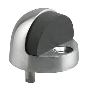Primeline Products 1/2 in. Dome Stop in Satin Nickel PMP4846