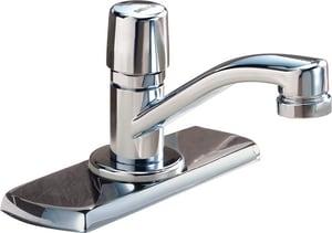 Delta Faucet Teck 174 Metering Faucet With Single Handle Knob