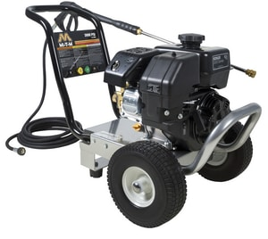 MI-T-M Cold water gasoline pressure washer  3000 psi at 2.3 gpm  Kohler 196cc OHC Engine MWP0MKB