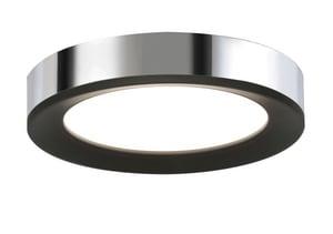 AFX Lighting Alta LED Ceiling Light in Polished Chrome/Black AAAF121400L3D1BKPC