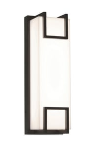 AFX Lighting Beaumont LED Outdoor LED Wall Sconce in Textured Bronze ABMW5171800L30MVBZ