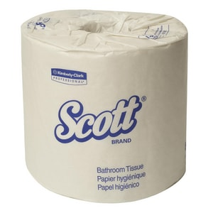 Kimberly Clark Scott® Standard Roll Bath Tissue in White K42108