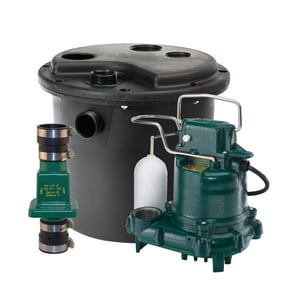 Zoeller 115V 1/2 hp  Drain Pump Package Z1050001