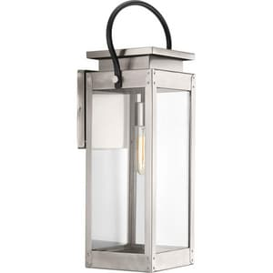 Progress Lighting Union Square 100W Medium Outdoor Wall Sconces in Stainless Steel PP560006135