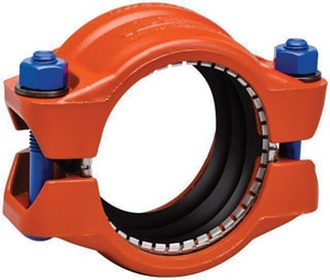 Victaulic Style 907 IPS Coupling for HDPE-to-Steel Pipe VL907PEZ-NR