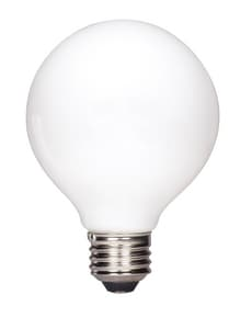 Satco 4.5W G25 Dimmable LED Light Bulb with Medium Base SS9827