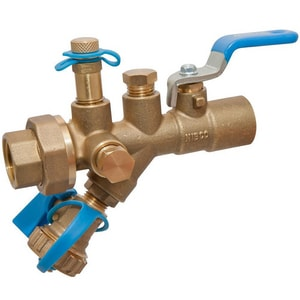 Nibco Flo-Boss® NPT Combination Ball Valve with Strainer NT1820