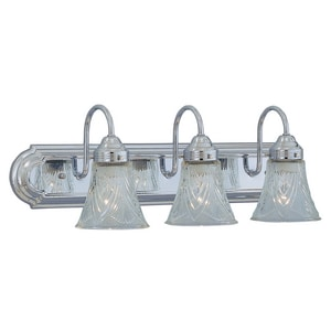 3-Light 60W Vanity Fixture in Polished Chrome C208307