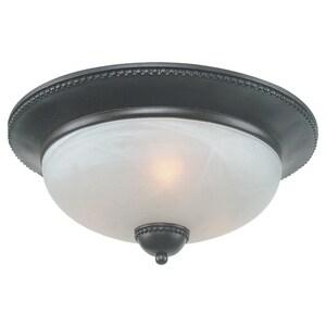 Seagull Lighting Royce 2-Light 60W Ceiling Light in Oil Rubbed Bronze SRFM40023