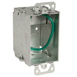 Raco STAB-iT™ 3 x 2 x 2-1/2 in. Steel Old Work Switch Box R518S
