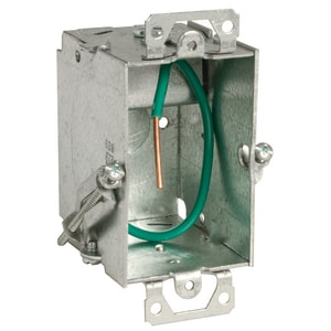 Raco STAB-iT™ 3 x 2 x 2-1/2 in. Steel Old Work Switch Box with Clip R523S