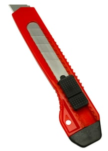 8-Point 18mm Economy Snap-Off Blade Knife W102380