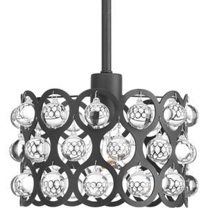 Progress Lighting Vestique 9-1/8 in. 100W 1-Light Incandescent Mini Pendant in Graphite PP500003143
