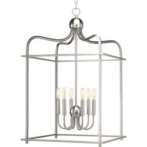 Progress Lighting Assembly Hall 6-Light Foyer Pendant PP500037