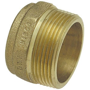 Drainage Waste and Vent Cast Copper x Male Adapter CCDWVMA