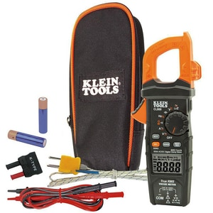 Klein Tools 600V Digital Clamp Meter AC/DC Auto-Ranging KCL800