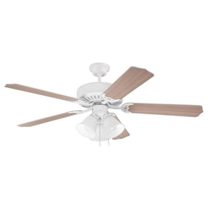 Craftmade International Ceiling Fan with 44 in. Blade Span and 3-Light Kit CRM445C3