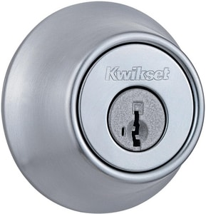 Kwikset 660 Series Single Cylinder Deadbolt K665SMTRCALRCS