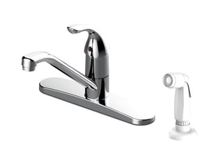 PROFLO® 1.5 gpm 4-Hole Kitchen Sink Faucet with Single-Handle in Polished Chrome PFXCM1M205
