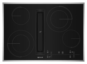 Jennair JX3™ 30-7/8 in. 4-Burner Electric Downdraft Cooktop with Glass-Touch Electronic Control JJED4430G