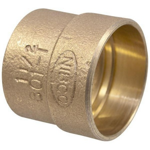Drainage Waste and Vent Cast Copper Trap Adapter CCDWVCODTA