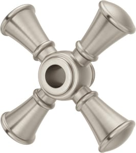 Pfister Tisbury™ Optional Brass Diverter Trim Single Cross Handle in Brushed Nickel PHHL016TBK